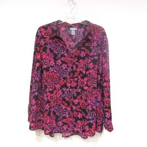 Catherine's Floral Top